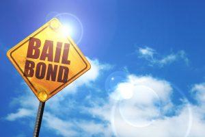 sign saying bail bond